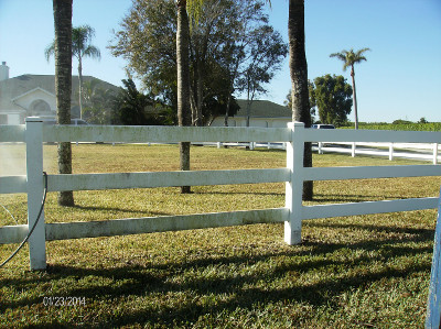 Paddock Fences need cleaning.  Let Beav's clean your paddock fence for you.