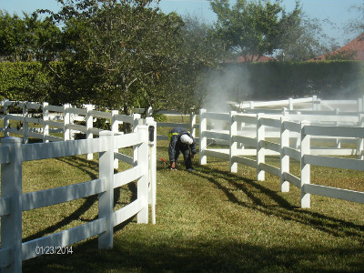 Cleaning paddock fences can add life to your fencing