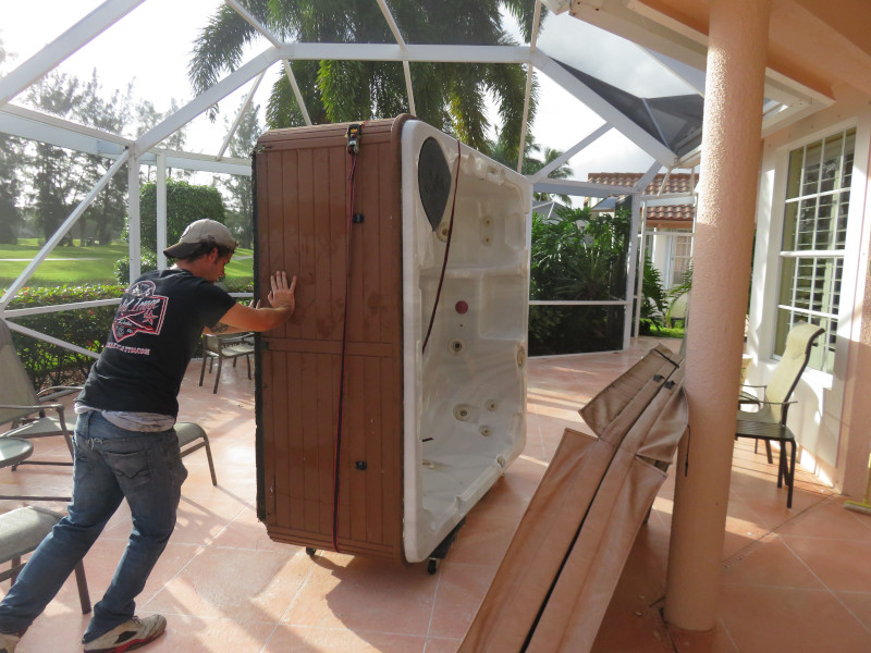 Hot Tub Removal Palm Beach County