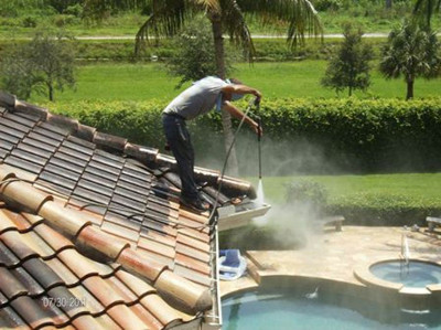 Power washing your gutters can extend thier life