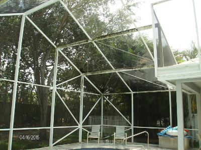 Lake Worth Screen Enclosure Cleaning